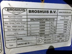 2014 to 2016 Broshuis Triple Extenders
