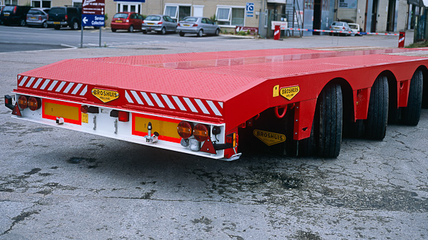 Extendable Drop/Step Frame: 3 Axle 0.85m/0.95m Dbl-Ext Hyd-Steer