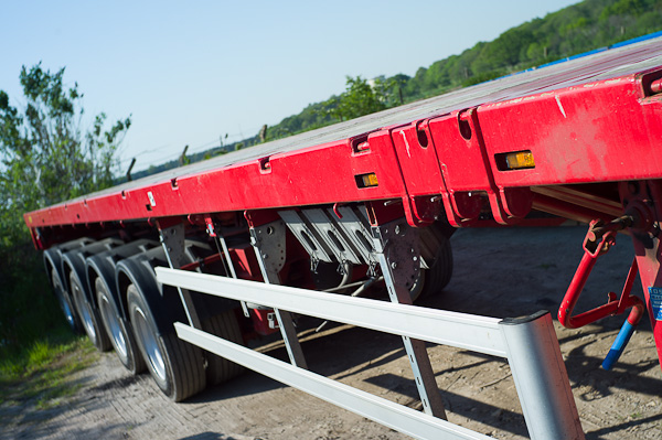 4 Axle Triple Extender with Hydraulic Steering