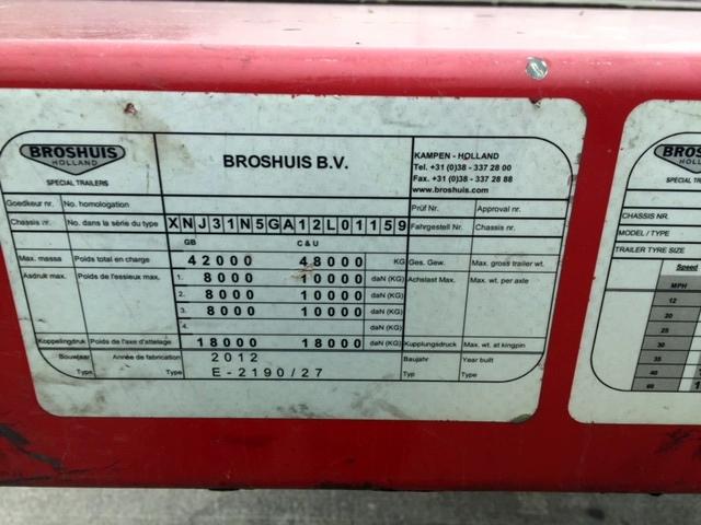 Broshuis E-2190/27 Step Extender