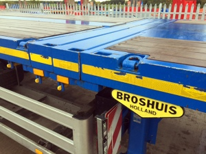 Broshuis Power Steered Flat
