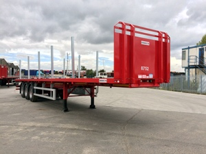 Tri Axle Flat Trailer For Sale