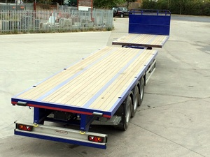 Tri axle Platform Extendible Trailers